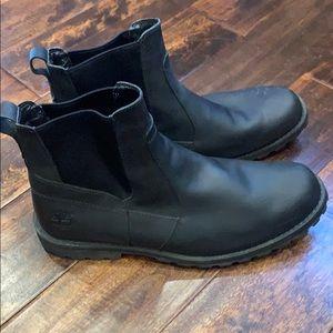 Timberland Black Chelsea Boots Mens Sz. 13
